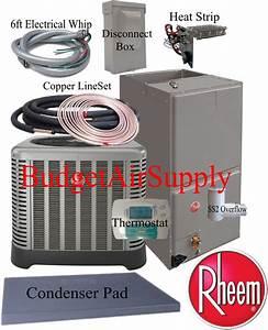 Rheem  Ruud U0026quot Classic U0026quot 3 Ton 15 Seer Heat Pump Rp1536a