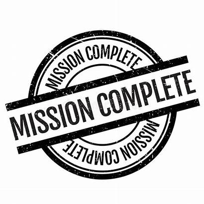 Complete Mission Stamp Vector Objective Easily