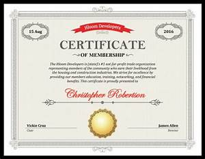 free honorary life membership certificate template image With honorary member certificate template