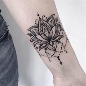 Tatouage Rose Avant Bras Femme Tatouage Avant Bras Femme Mandala