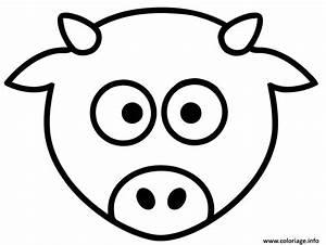 Modèle De Dessin Facile : coloriage dessin facile animaux de la ferme vache dessin ~ Melissatoandfro.com Idées de Décoration