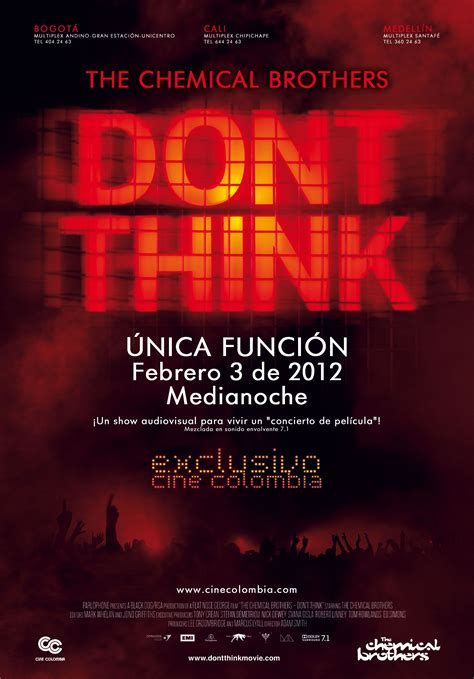 Don't Think The Movie - Chemical Brothers | Concierto ...