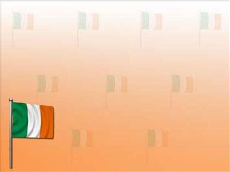ireland flag  powerpoint templates