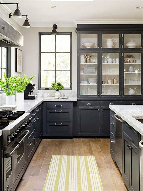 designing home thoughts  choosing dark kitchen cabinets