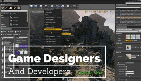 whats  difference   game designer developer