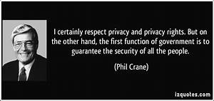 Respect My Priv... Respect Privacy Quotes