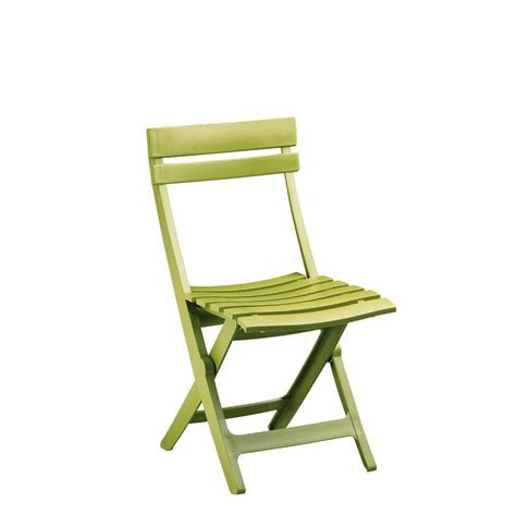chaise en plastique lot 48 chaises pliantes en plastique vert anis miami