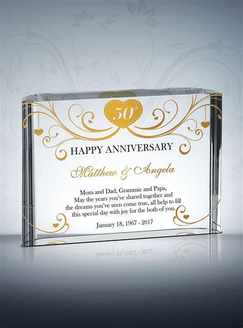 birthday gift ideas for 50th golden wedding anniversary gifts diy awards