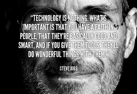 quotes funny tech technology quotesgram quote important jobs steve