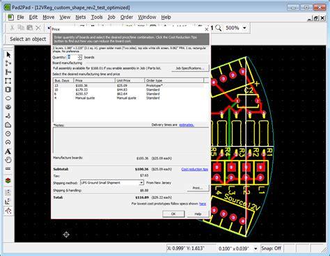 free pcb design software pad2pad pcb manufacturer