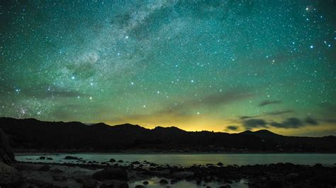 island barrier sky dark stargazing zealand mark russell adventure