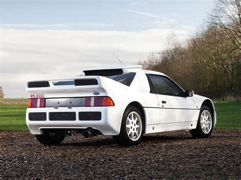 Ford RS200 Evolution Heading to Amelia Island Auction ...