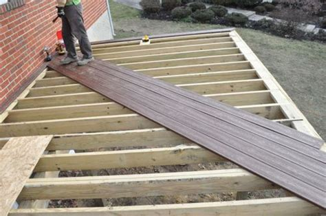 Installing Trex Decking Diagonal by Deck Boards Deck Boards Grain Direction