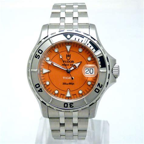 tiger-woods-tudor-orange-dial-date-watch-01 | Tudor (Rolex ...