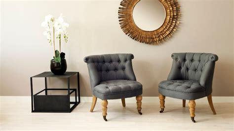 canapé d appoint fauteuil crapaud esprit boudoir et intimiste westwing
