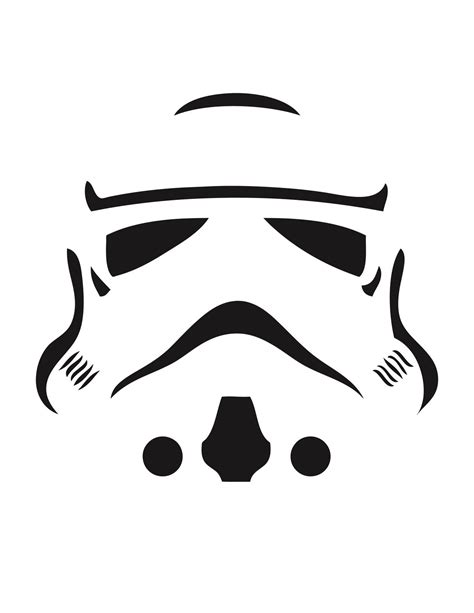 Boba Fett Pumpkin Carving Stencil by Carve These Star Wars Pumpkins You Shall Wired