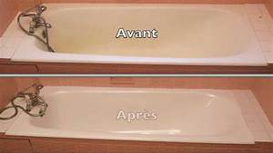 renover une baignoire youtube With peinture resine pour baignoire
