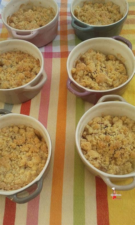 recette de crumble salé crumble aux pommes recette