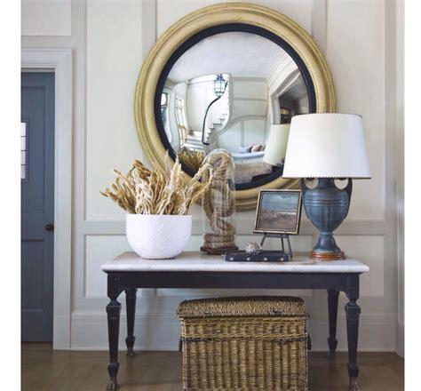 Accent Mirrors Entryway - decorative mirror for a coastal entryway vignettes