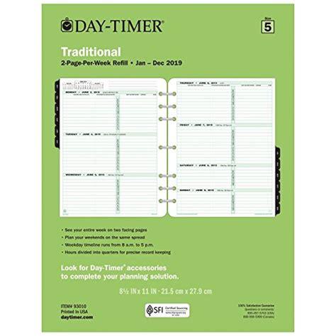 top weekly calendar refills aitbuinfo