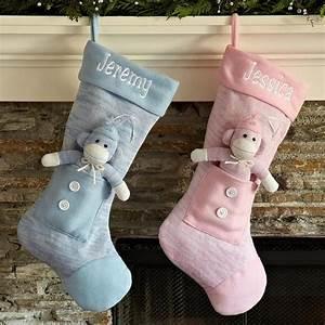 Baby, Sock, Monkey, Stocking