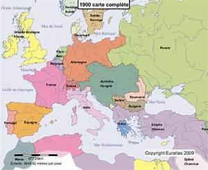 Carte Europe Media Nav Gratuit : euratlas periodis web carte de l 39 europe en 1900 ~ Medecine-chirurgie-esthetiques.com Avis de Voitures