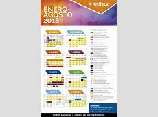 Calendario Universidad Anáhuac Puebla