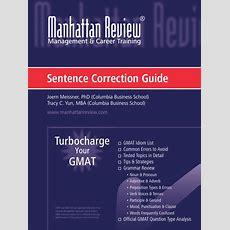 Gmatsentence Correction Guide