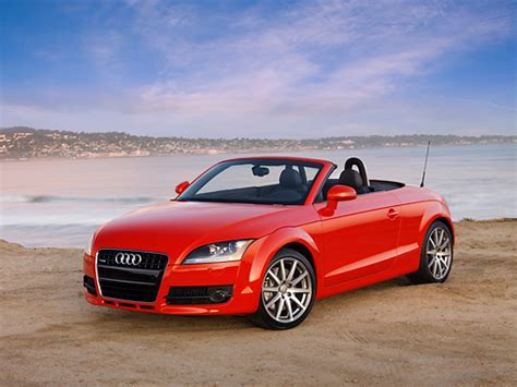 convertible audi red convertible audi car stock photos kimballstock