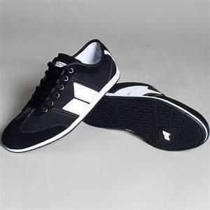 Brighton Mens Shoes In Black/White By Macbeth