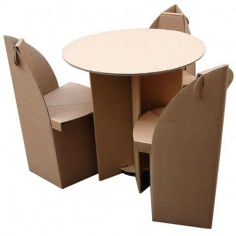 Table En Carton Etoile En Kit  Quart De Poil