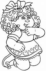 Cabbage Patch Coloring Pages Printable Colouring Clipart Silhouette Bing Sheets Cabage Patch1 Doll Dolls Kid Coloringpages101 Halloween Printables Regina Drawings sketch template