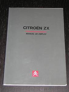 Citroen Zx - Manual Usuario Original - 1996 - E