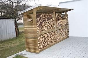 Unterstand Für Brennholz : brennholzunterst nde mit optischem anspruch heinzmann ~ Frokenaadalensverden.com Haus und Dekorationen