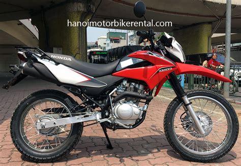 rent motocross bike uk honda xr150 for rent in hanoi vietnam hanoi motorbike