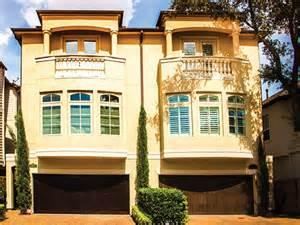 Simple Three Story Townhouse Plans Ideas by Eplans Mediterranean House Plan Lavish Duplex Townhouse