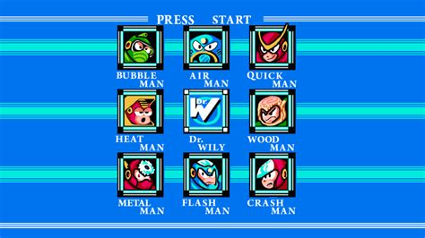 Megaman 2 Stage Select By Thecartoonguy13 On Deviantart