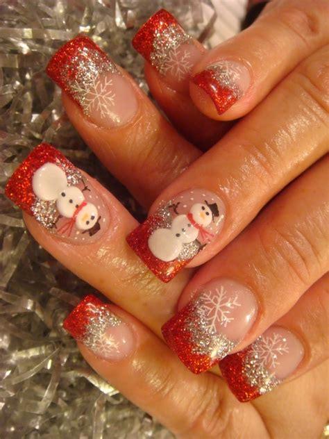 15 best cute amazing christmas nail art designs ideas