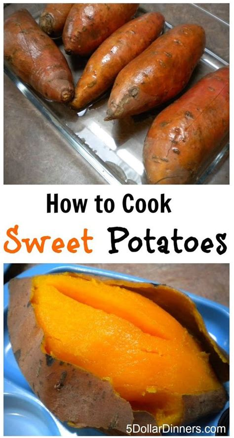sweet potato recipes simple easy instructions for how to cook sweet potatoes 5dollardinners com easy healthy recipes