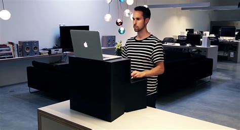 cardboard stand up desk oristand is a portable folding standing desk that costs
