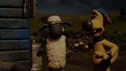 Sheep Shaun Animation Yes Gifs Giphy Five