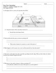 sea floor spreading worksheet pdf 11 best images of sea and worksheets free
