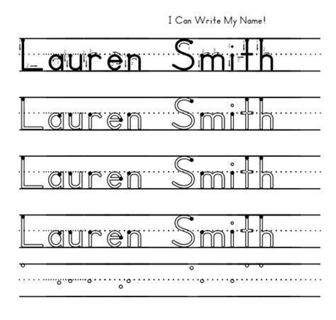 Help Preschoolers Learn To Write Their Name