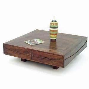 Table Basse Asiatique : table basse en palissandre salon asiatique soleil levant ~ Melissatoandfro.com Idées de Décoration