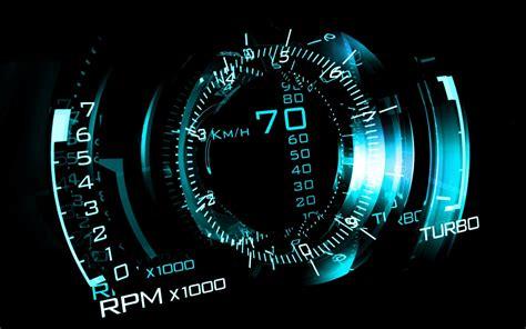 Digital Speedometer Wallpaper by Cgi 02 Saab Aero X Concept007 16march2014sunday