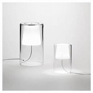 Table De Chevet Verre : join lampe de table verre lampe chevet design vibia ~ Teatrodelosmanantiales.com Idées de Décoration