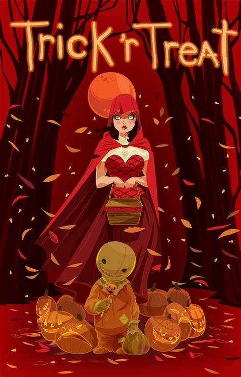 Trick 'r Treat Comic Cover on Behance