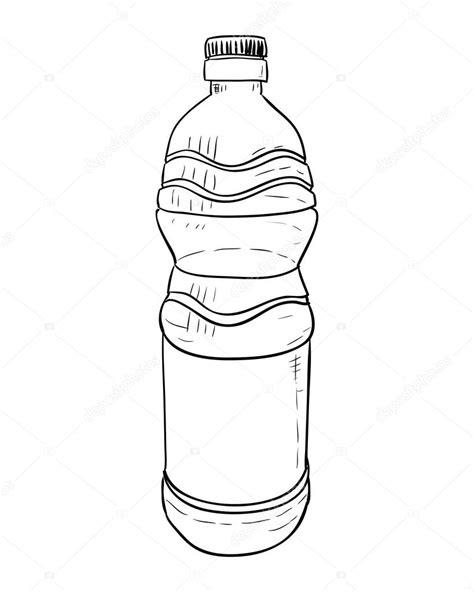dibujo de botella de plástico Vector de stock © BeatWalk #120209092