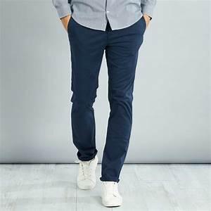 Pantalon Décontracté Homme : pantalon chino slim stretch longueur us 32 homme kiabi 13 60 ~ Carolinahurricanesstore.com Idées de Décoration