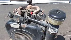Good Running Wisconsin Vh4d  Vg4d  4 Cylinder 37 Hp Gas